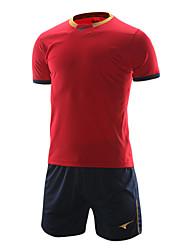 formation de football de costumes pour hommes (rouge et bleu marine / Espagne)