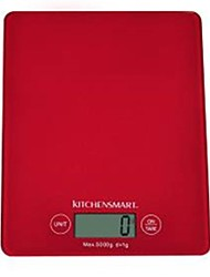 LCD Digital Kitchen Scale (3kgx1g, 1xCR2032)