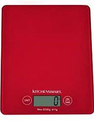 LCD Digital Kitchen Scale (3kgx1g, 1xCR2032)