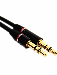 4ft 1,2 m mâle à mâle jack 3,5 mm audio PC stéréo Extension Aux Universal Cable