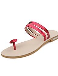 Frauen Flache Heel Slide Sandalen Schuhe (weitere Farben)
