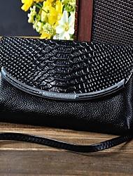 Crocodile Design Women's  Genuine Leather Shoulder Bag/Crossbody Bag Clutch Bags