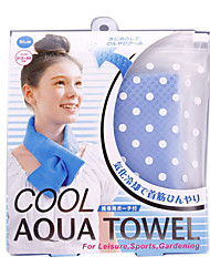 The Coolest Cold Scarf Automatic Cooling Ice Scarf(Random Color)