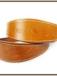 Collier réglable de cuir véritable pour Animaux Chiens (couleurs assorties, tailles)