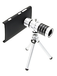 Zoom 12X Telephoto Aluminum Cellphone Lens with Tripod for Nokia Lumia 920