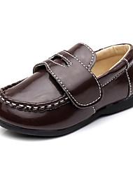 """Talón plano de cuero niños """"Confort holgazanes de los zapatos con cinta mágica (más colores)"""