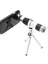 16X Telephoto Metal and 220X Microscope Cellphone Lens with Tripod for Samsung S3