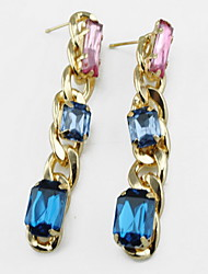 Kushang Korean Gemstone Earrings