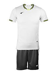 мужские короткий рукав футбол костюмы (белый и черный / Германия)