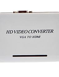 VGA to HDMI V1.3 F/F HD Video Converter for 1080p HDTV Screen