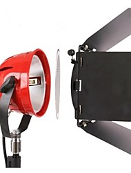 Photo Professional Video Studio continue Lampe frontale rouge 800w Video Eclairage