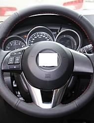 Xuji copriruota ™ nera in vera pelle per 2012 2013 Mazda CX-5 CX5 mazda Atenza 2014 mazda 3
