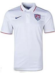 Copa do Mundo 2014 copa do mundo jerseys EUA jogo em casa branca (os fãs)