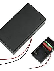 3 x D Batterie Source Box Case Holder
