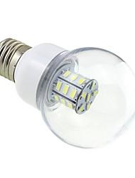 E26/E27 Ampoules Globe LED G60 27 SMD 5730 500 lm Blanc Froid DC 12 AC 12 AC 24 DC 24 V