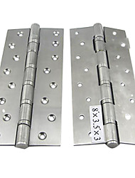 203mm × 89mm Mute Bearing Stainless Steel Door Hinge