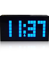 Kosda Chihai® Digital Large Big Jumbo LED Snooze Wall Desk Alarm Calendar Indoor Weather Clock Multifunctional