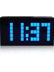 Kosda Chihai ® Digital grande grande del jumbo LED Snooze escritorio de la pared Alarma Calendario Indoor Weather Clock Multifuncional