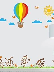 Frankie ™ Autocollants décoratifs pour enfants Cartoon DIY peut être retiré