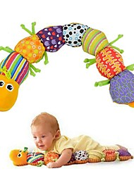 New Musical Colorful Soft Lovely Developmental Baby Inchworm Toy Educational Drop