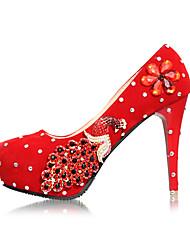 Women's Wedding Shoes Heels Heels Wedding/Party & Evening Red