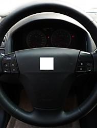 Натуральная кожа Xuji ™ Черный Руль Обложка для Volvo S40