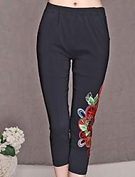 Women's Pants , Polyester Vintage Fangyage