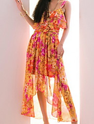 GMFI Great Temperament Printing Dress