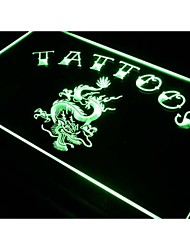 Tattoo Dragon Chinese Shop Art Neon Light Sign