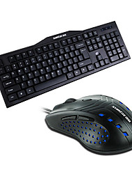Sumtax K10 Gaming Wired Mouse (1000/1600/2000dpi) + Gaming impermeabile Kit Wired Keyboard