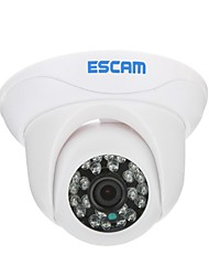 ESCAM Snail QD500 H.264 Dual Stream 3.6MM Tag / Nacht-IP-Dome-Kamera Wasserdicht-und Support-Mobile-Erkennung