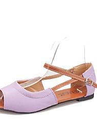 Frauen Flache Heel Sandaletten mit Schnalle Comfort Schuhe (weitere Farben)