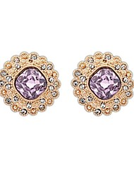Women's Fashion Squares Alloy Rhinestone Elegant Stud Earrings (More Colors) (1 Pair)