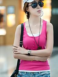 Summer Button réservoir des femmes Vest