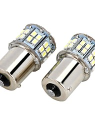 Marsing 1156 9W 800lm 6500K 50-SMD LED 7000K Cool White Light Car Brems Nebelscheinwerfer - (2 Stück)