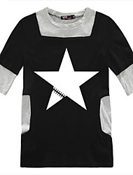 T-shirt Mestre Poliéster Cosplay Black Rock Shooter Morto