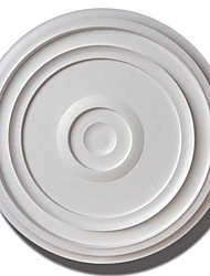 Plafond MOS ® PU Sculpture suspendu Lampe panneau (Blanc)