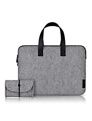 Cartinoe mode de transport protecteur de sac de caisse de poche de douille pour Apple MacBook Air Pro15.4'' Laptop Sleeve Case Sac