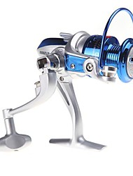 8BB Ball Bearings Left/Right Interchangeable Collapsible Handle Fishing Spinning Reel ST2000 5.1:1(0.25mm/125m)