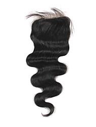 Haute Qualité cheveux brésilien dentelle Fermeture Carrosserie vague 8Inch En stock