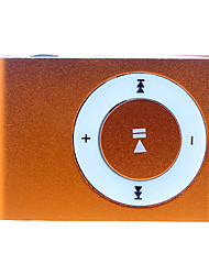 Rectangular Shaped 2GB TF MP3 Player with Clip