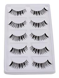 5 Pairs Soft Natural False Eyelashes within High-grade Gift Box 5-03