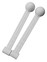 TTYGJ Golf White Rotary Rod Swing Trainers
