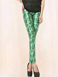 Delle PinkQueen donne Spandex verde malachite Leggings