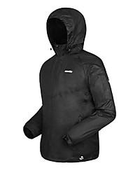 AMADIS Negro Chinlon manga larga Anti-UV Pesca Jacket