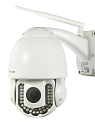 Sricam® PTZ Outdoor IP Camera 720P Waterproof Day Night IR-cut P2P Wireless