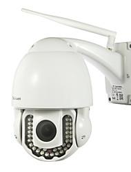 sricam® IP PTZ caméra extérieure imperméable 720p jour nuit IR-cut p2p sans fil