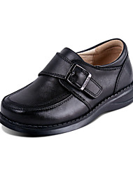 talon plat Comfort Mocassins Chaussures garçon en cuir
