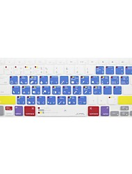 JCPAL® Macbook Pro Macbook Photoshop Shortcuts Silicone Keyboard Protector