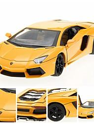 1/24 литого Lamborhini LP700 Лицензия сплава РТР RC автомобилей со светодиодными огнями
